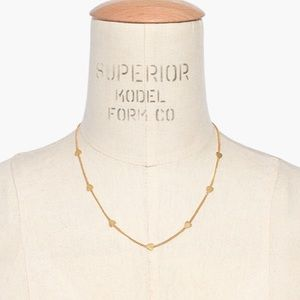 New Madewell Heartstrings Choker Necklace